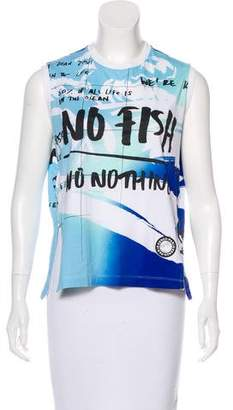Kenzo Printed Sleeveless Top
