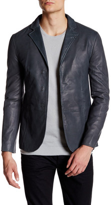 John Varvatos Collection Genuine Lambskin Leather Jacket $2,198 thestylecure.com