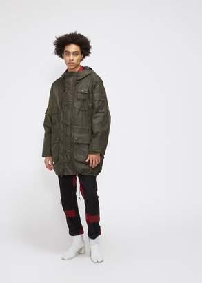 Engineered Garments Barbour Zip Parka