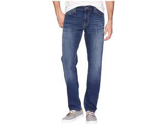 Mavi Jeans Marcus Slim Straight Leg in Dark Brushed Williamsburg