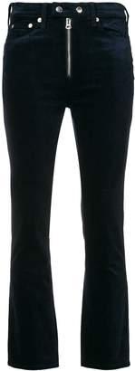 Rag & Bone slim velvet jeans