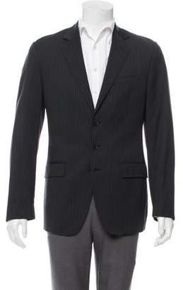 Dolce & Gabbana Pinstripe Virgin Wool Blazer