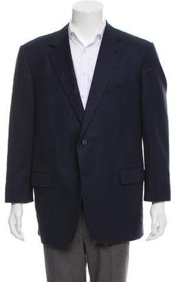 Caruso Woven Two-Button Blazer