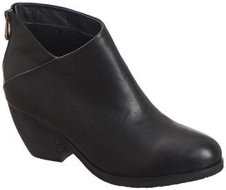 Antelope Leather Overlap Bootie