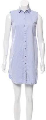 Alexander Wang Sleeveless Mini Shirtdress