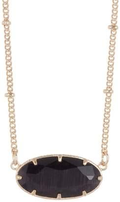 14th & Union Single Stone Short Necklace