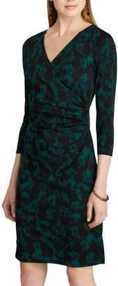 Chaps Women's Geometric Print Sheath Dress