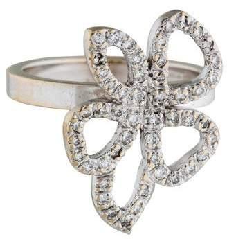 GucciGucci 18K Diamond Flower Cocktail Ring