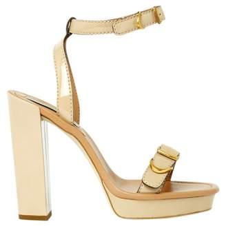 Stella McCartney Stella Mc Cartney Beige Plastic High Heel