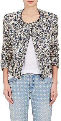 Etoile Isabel Marant Women's Hustin Quilted Cotton-Linen Jacket