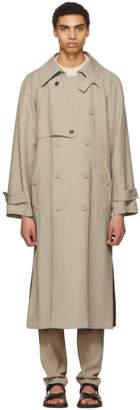 Acne Studios Khaki Maverick Trench Coat