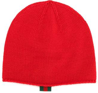 Gucci Kids classic knitted beanie hat