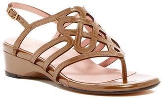 Taryn Rose Kelvo Slingback Sandal $229 thestylecure.com