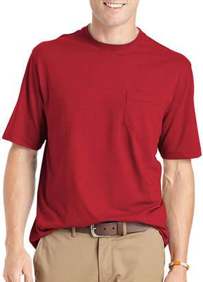 Izod Saltwater Double Jersey Crewneck T-Shirt