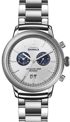 Shinola Men's Bedrock Bracelet Watch