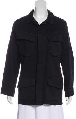 Anine Bing Elongated Button-Up Jacket