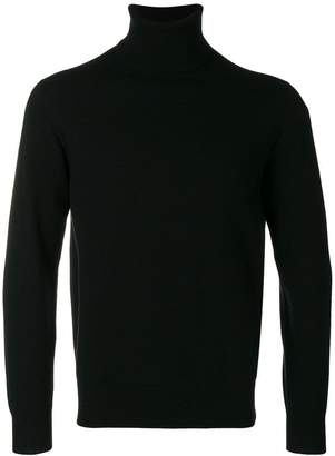 Cruciani roll-neck fitted sweater