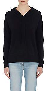 Barneys New York WOMEN'S CASHMERE HOODIE-BLACK SIZE XS