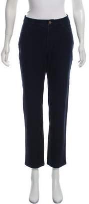 Lafayette 148 Mid-Rise Straight Leg Jeans
