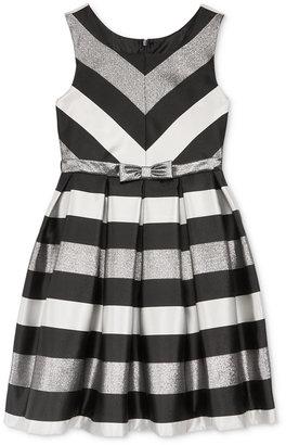 Bonnie Jean Striped Shantung Special Occasion Dress, Big Girls (7-16) $84 thestylecure.com