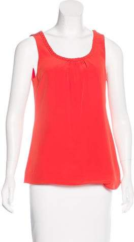 Kate Spade New York Silk Sleeveless Blouse