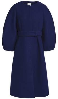 DELPOZO Wool-Felt Coat