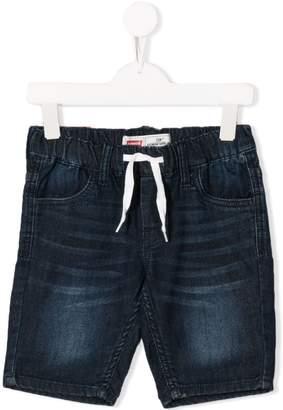 Levi's Kids drawstring denim shorts