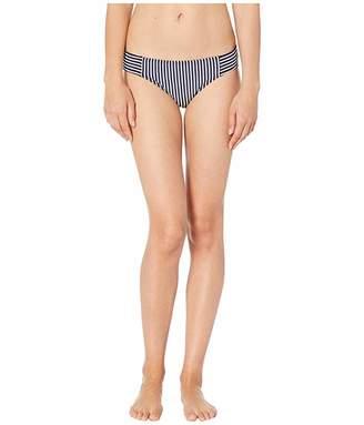 Lauren Ralph Lauren Textured Stripe Seamed Hipster Logo Plate Bottoms