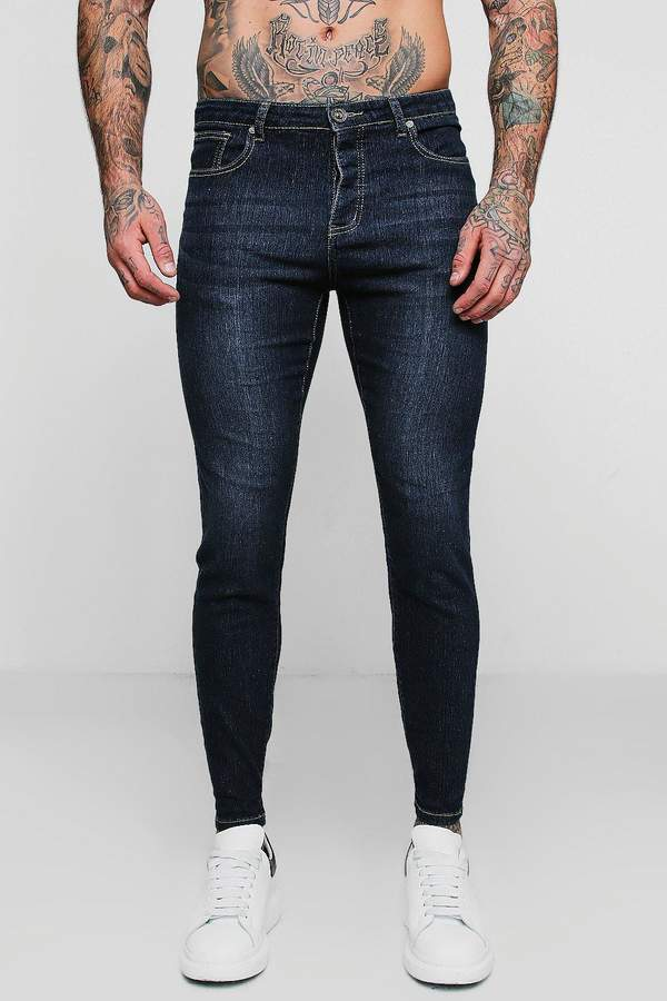 Skinny Fit Jeans In Washed Indigo