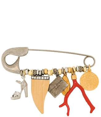 Sonia Rykiel hanging charm pin