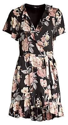 Paige Women's Cardamom Floral Wrap Dress