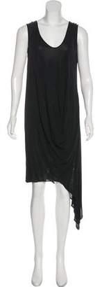 Zero Maria Cornejo Asymmetrical Midi Dress
