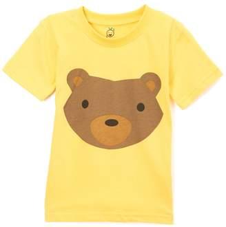 Doodle Pants Woodland Bear Shirt (Baby & Toddler Boys)