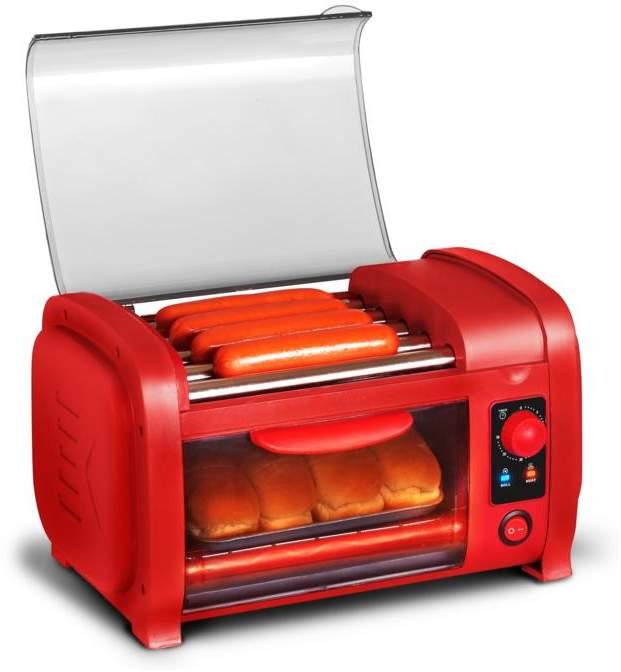 Elite Cuisine Hot Dog Roller and Toaster Oven