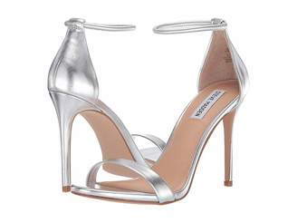 bdc52642c9b Steve Madden Silver Heels - ShopStyle