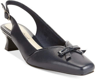 Easy Street Shoes Incredible Kitten Heel Pumps Women Shoes