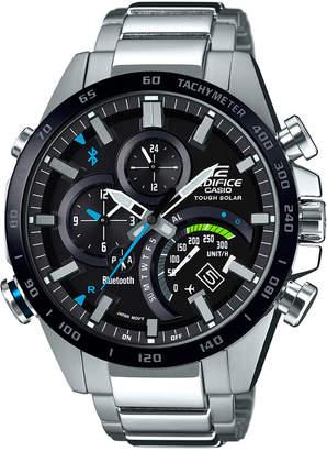 G-Shock Men's Solar Edifice Stainless Steel Bracelet Watch 48mm