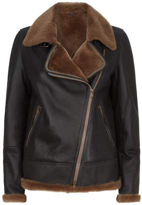 Brunello Cucinelli Sheepskin Aviator Jacket