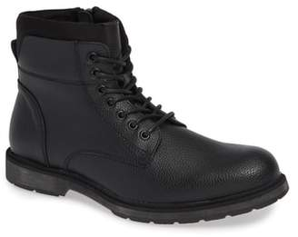 Kenneth Cole Reaction Drue Pebbled Combat Boot