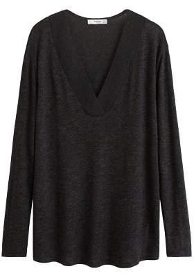 MANGO Lightweight knit t-shirt