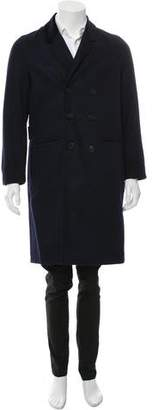 Timo Weiland Wool Double-Breasted Coat w/ Tags