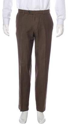 Dries Van Noten Wool & Ramie Pants