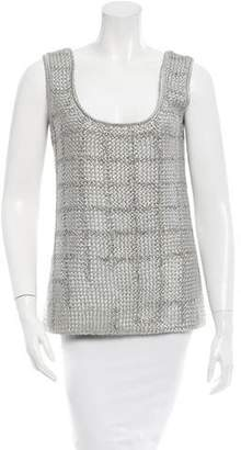 Maiyet Knit Scoop Neck Top