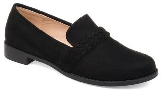 Co Brinley Women's Comfort Round Toe Flat Loafer