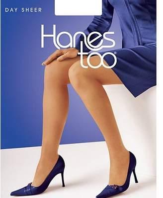 Hanes too Regular, Reinforced Toe Pantyhose 3-Pack