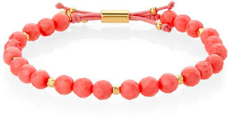 Gorjana Pink Coral Power Beaded Bracelet