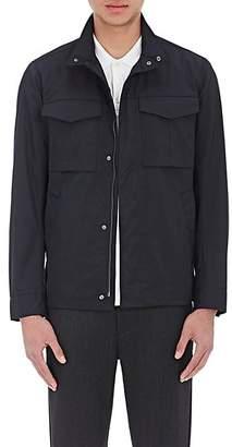 Theory Men's Tech-Fabric Field Jacket - Navy