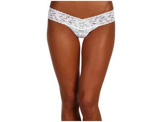Hanky Panky Mrs. Low Rise Bridal Thong