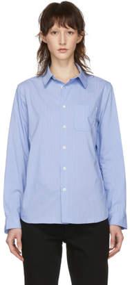 A.P.C. Blue Striped Femme Shirt