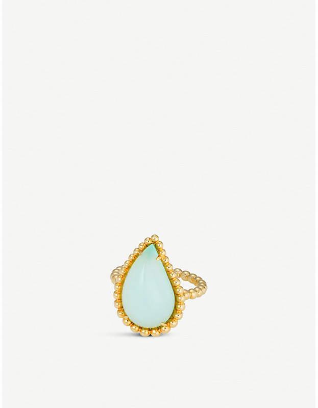 BUCHERER FINE JEWELLERY Lacrima 18ct yellow-gold and stone ring